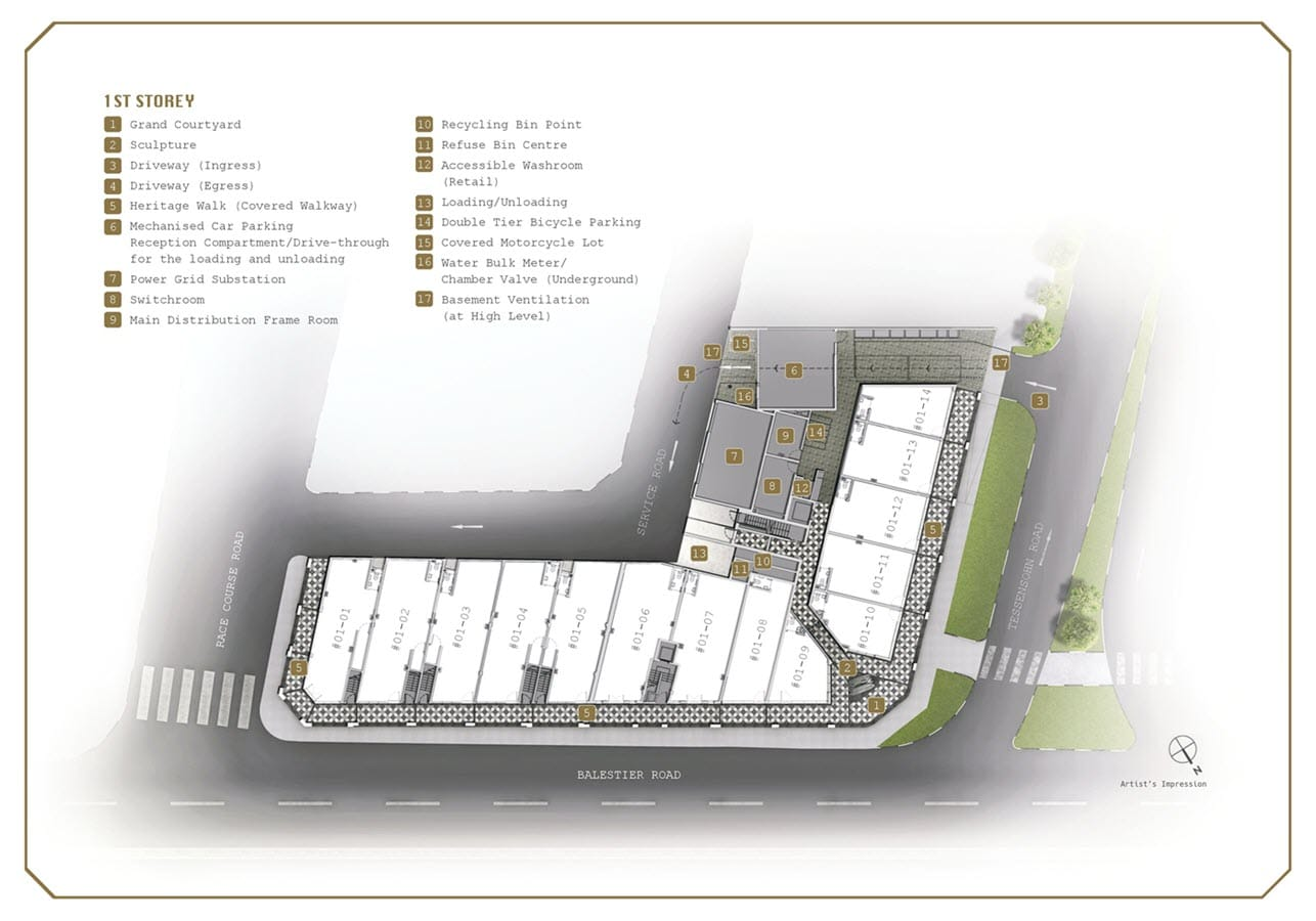 1953 Condo Site Plan 1st Storey