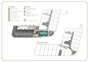 1953 Condo Site Plan 3rd 4th Residential Storey