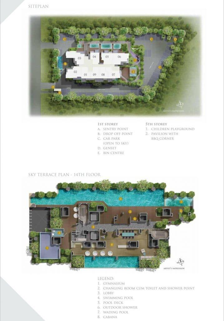 26 Newton Condo Site Plan
