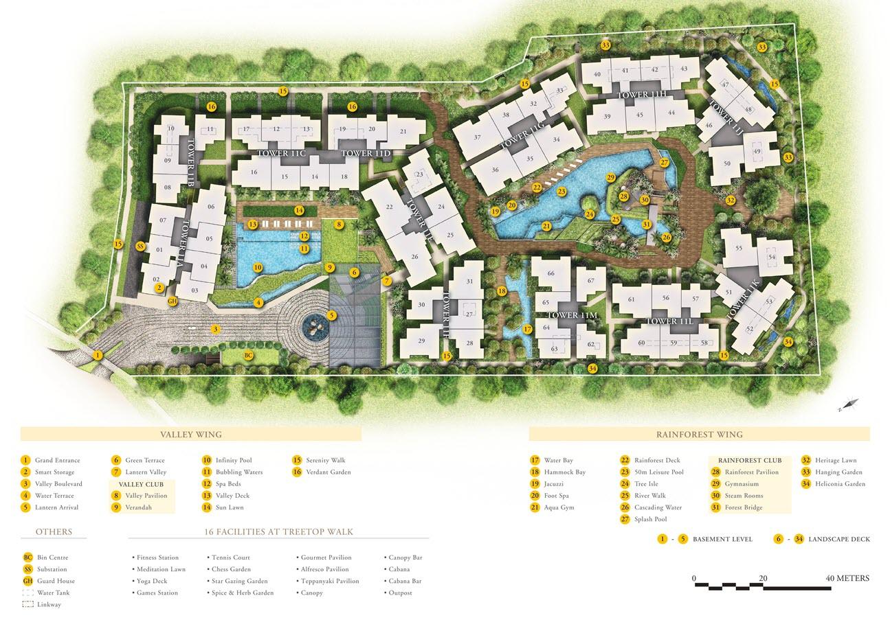 Daintree Residence Condo Site_Plan