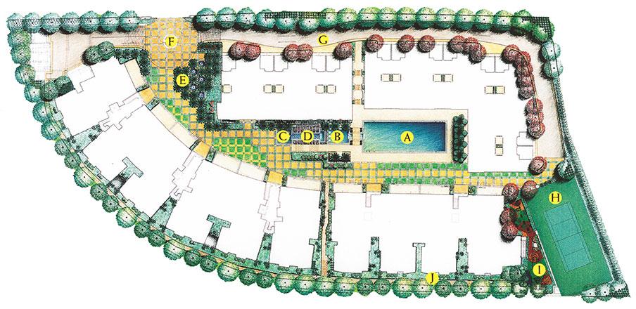 Gallop Green Condo Site Plan