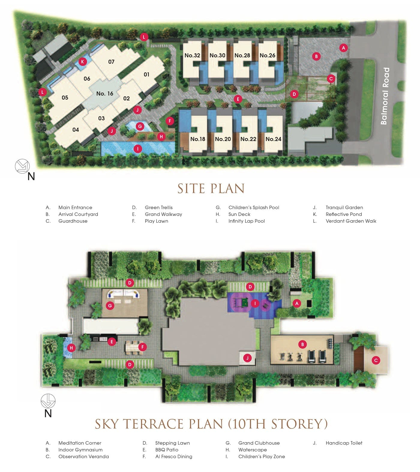 Goodwood Grand Site Plan