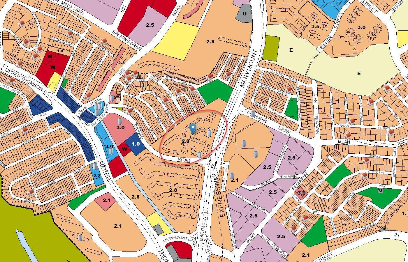 Jadescape Condo URA Master Plan Map