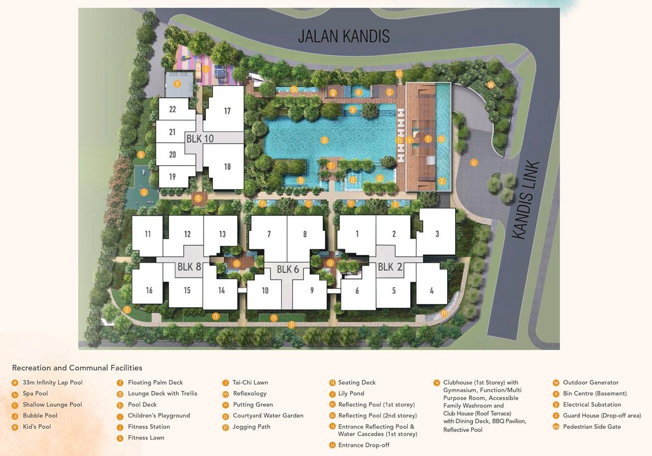 Kandis Residences Condo Site Plan
