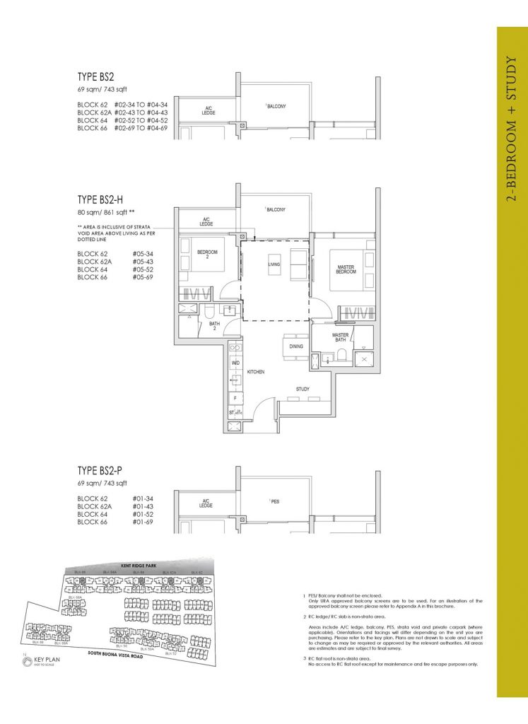 Kent Ridge Hill Residences Floor Plan BS2
