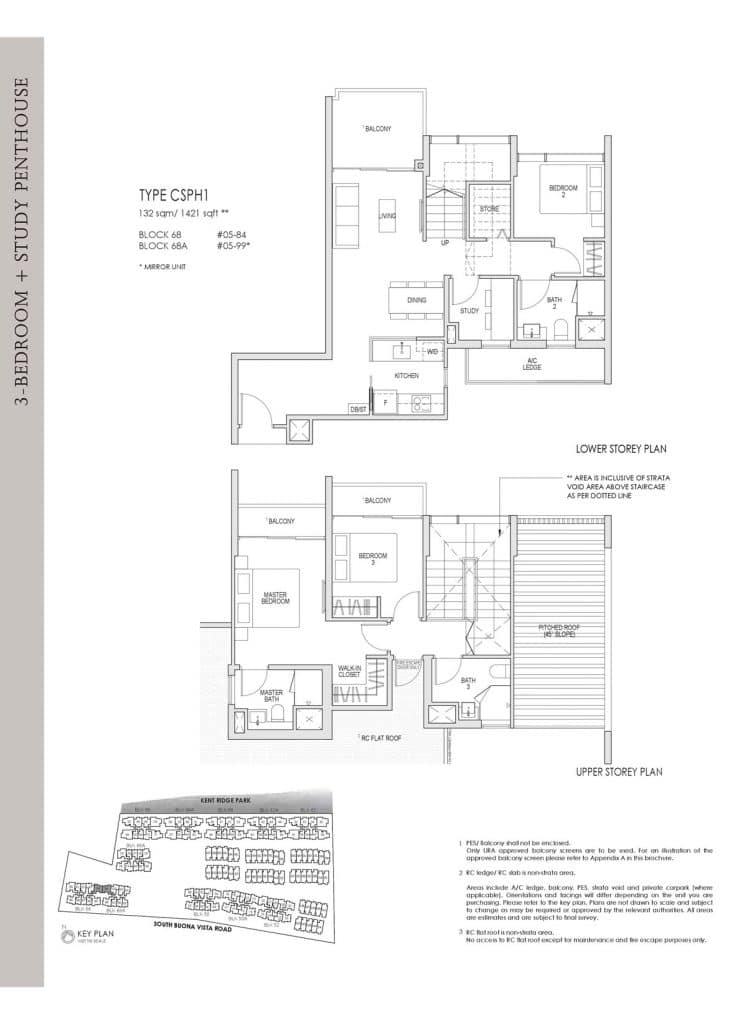 Kent Ridge Hill Residences Floor Plan CSPH1