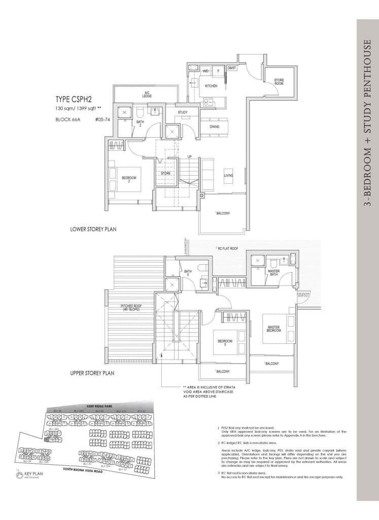 Kent Ridge Hill Residences Floor Plan CSPH2