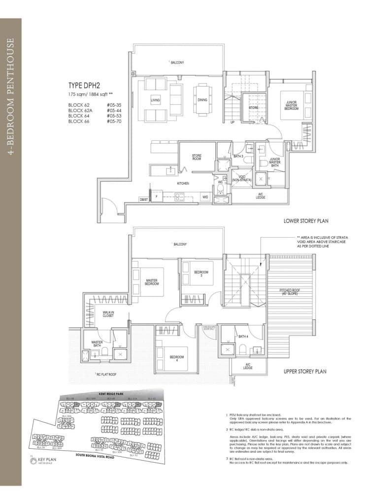 Kent Ridge Hill Residences Floor Plan DPH2