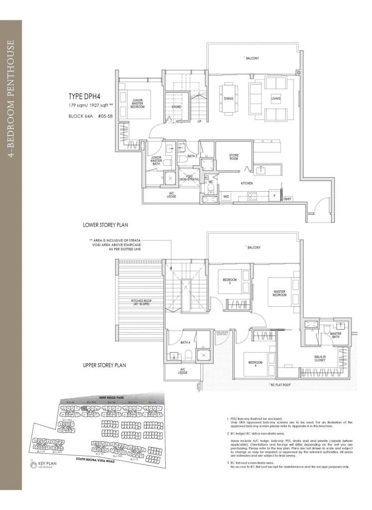 Kent Ridge Hill Residences Floor Plan DPH4