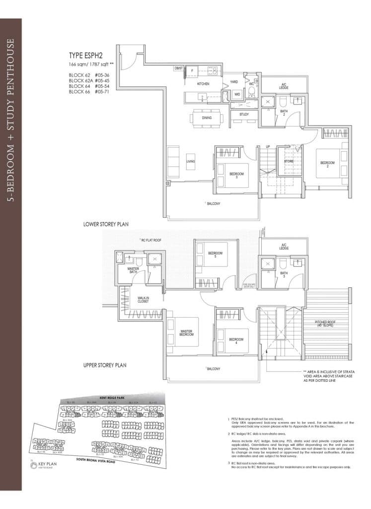 Kent Ridge Hill Residences Floor Plan ESPH2