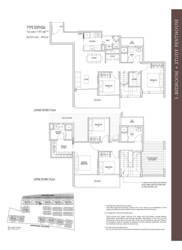 Kent Ridge Hill Residences Floor Plan ESPH2a