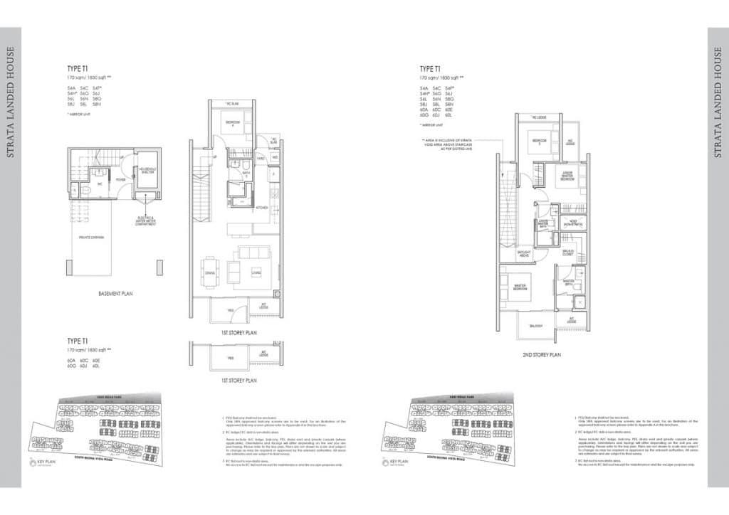 Kent Ridge Hill Residences Floor Plan T1