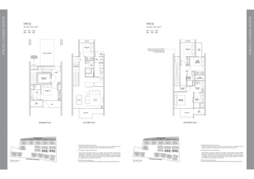 Kent Ridge Hill Residences Floor Plan T2