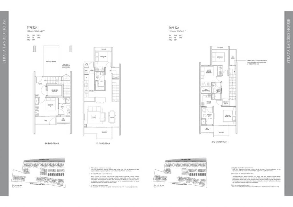 Kent Ridge Hill Residences Floor Plan T2A