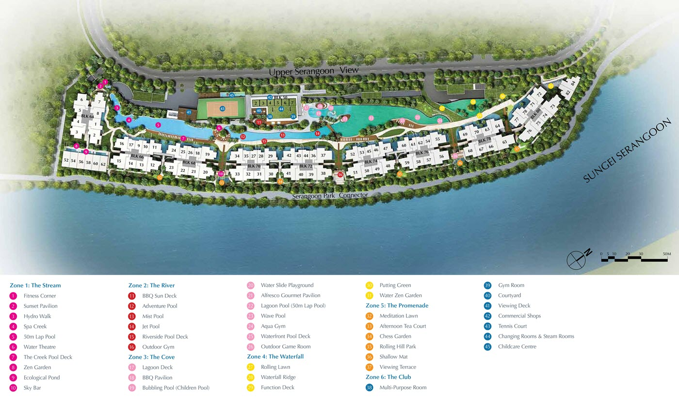 Kingsford Waterbay Condo Site Plan