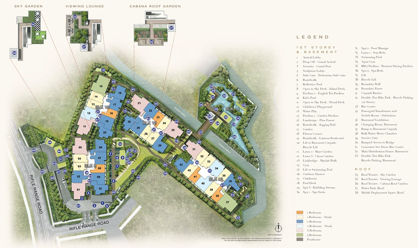 Mayfair Gardens Condo Site Plan 1