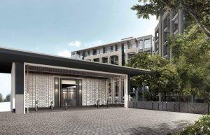 Mayfair Modern Condo Grand Entrance