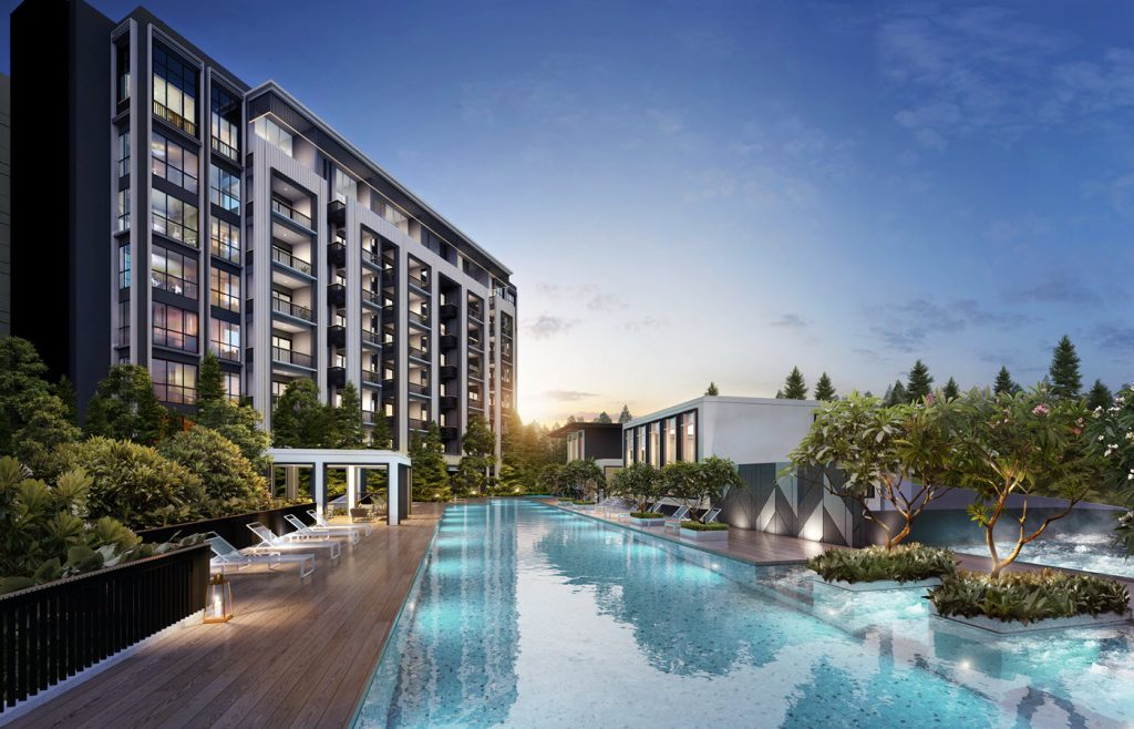 Mayfair Modern Condo Pool