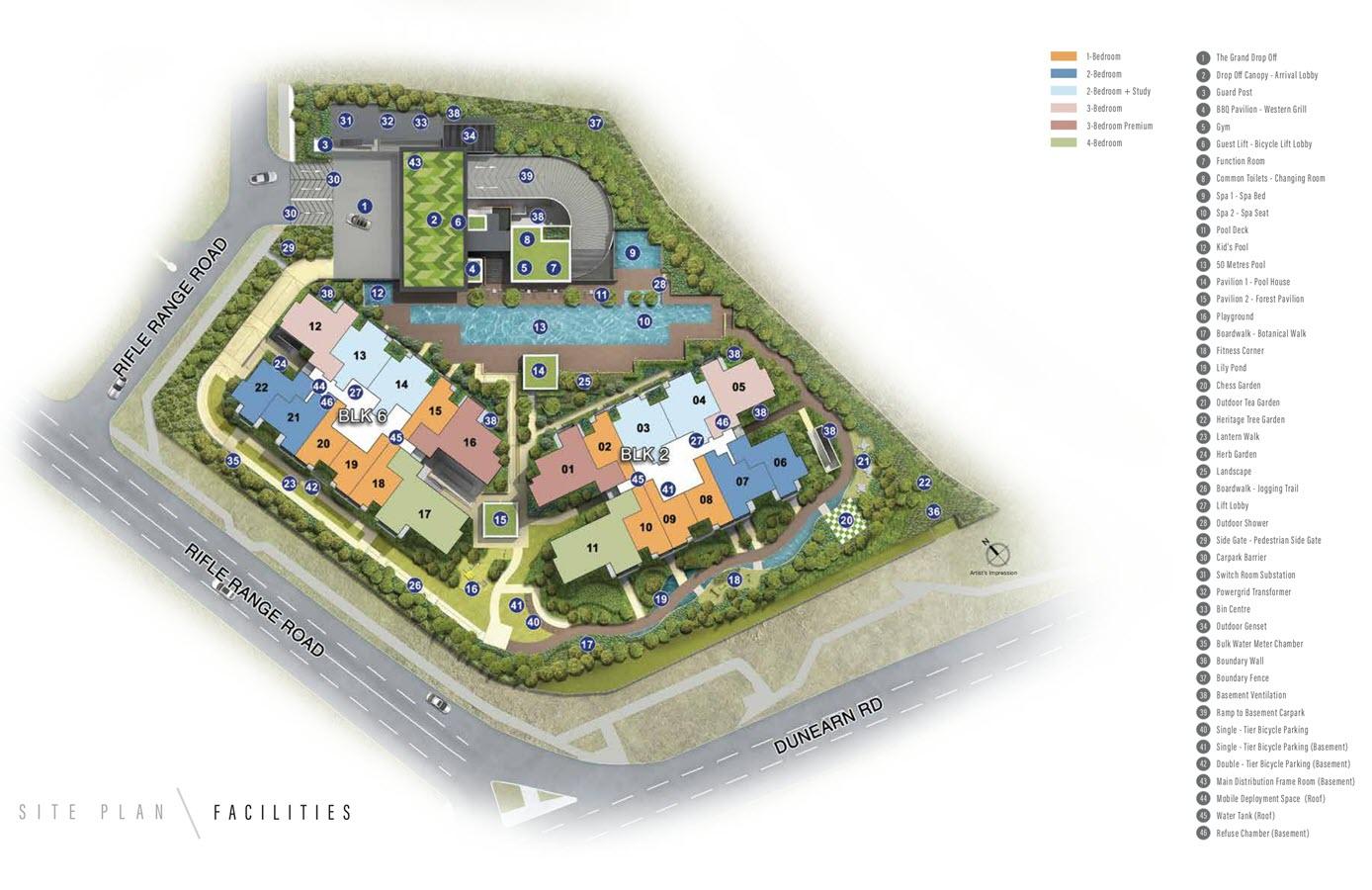 Mayfair Modern Condo Site Plan 1