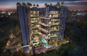 Mont Botanik Residence Condo High Landscape Night