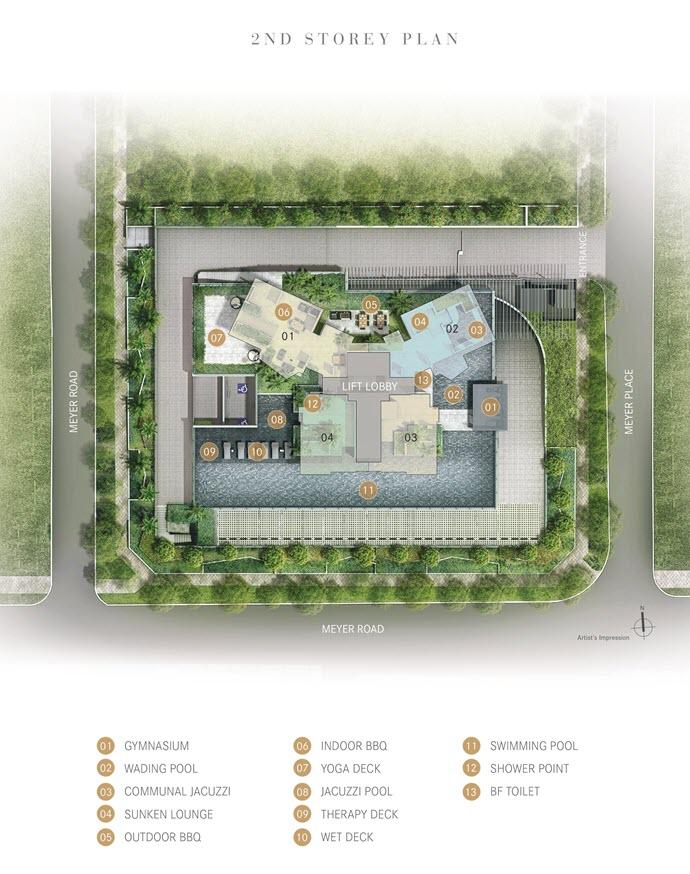 One Meyer Condo Site Plan