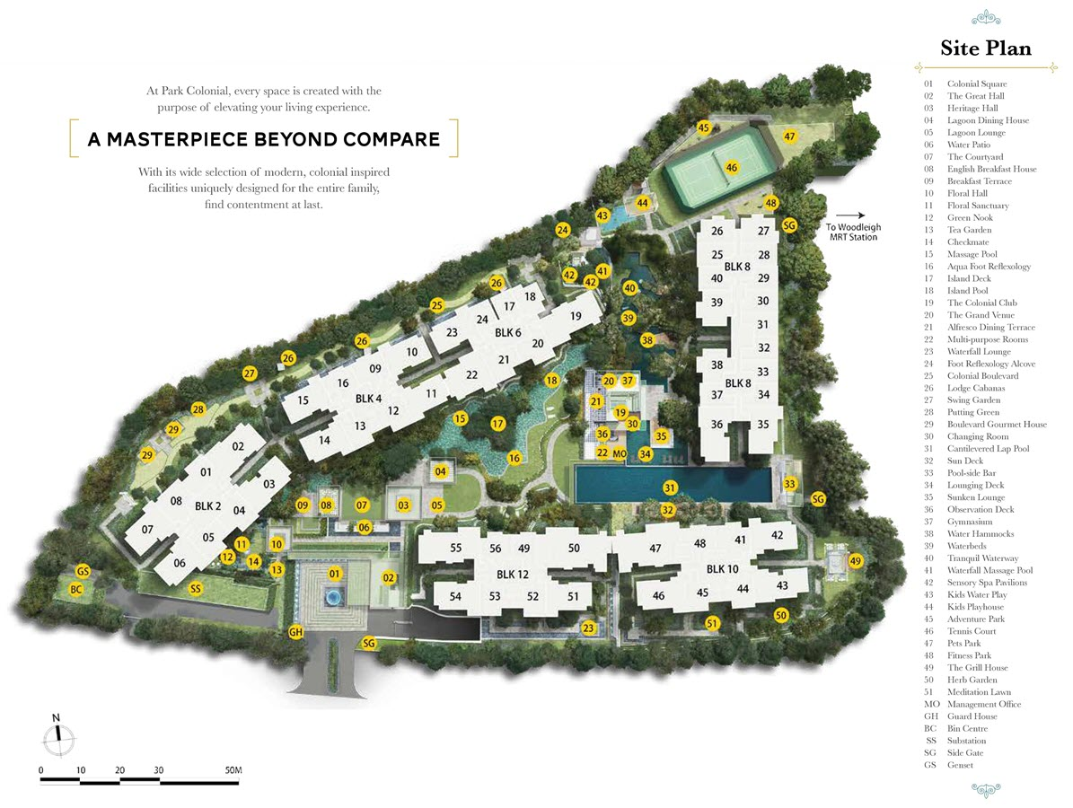 Park Colonial Condo Site Plan