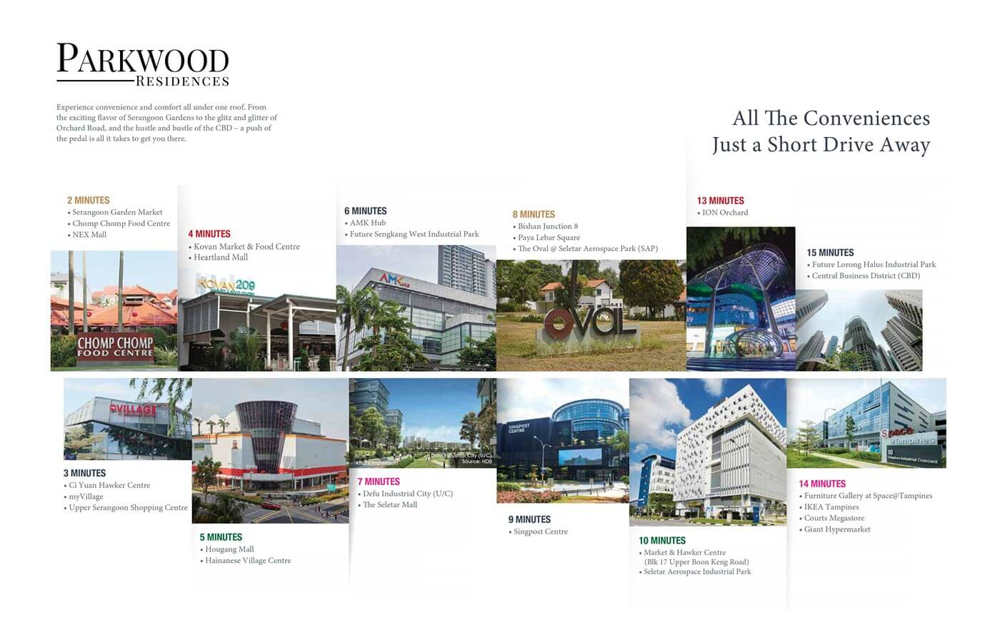 Parkwood Residences Condo Nearby Amenities