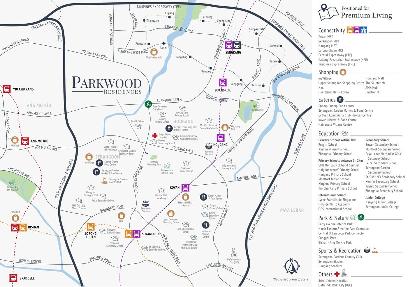 Parkwood Residences Condo Location Map