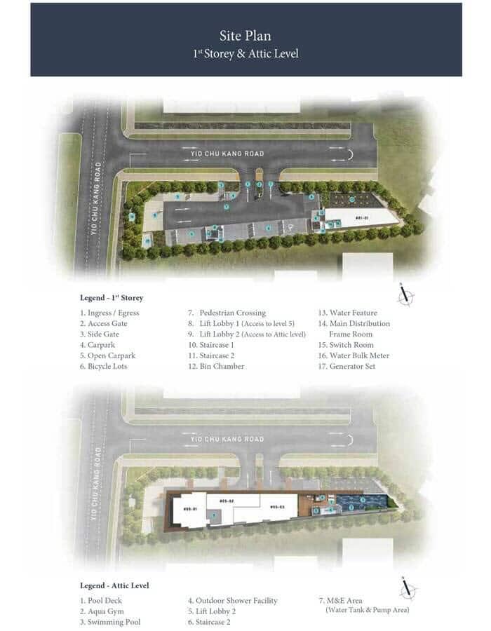 Parkwood Residences Condo Site Plan