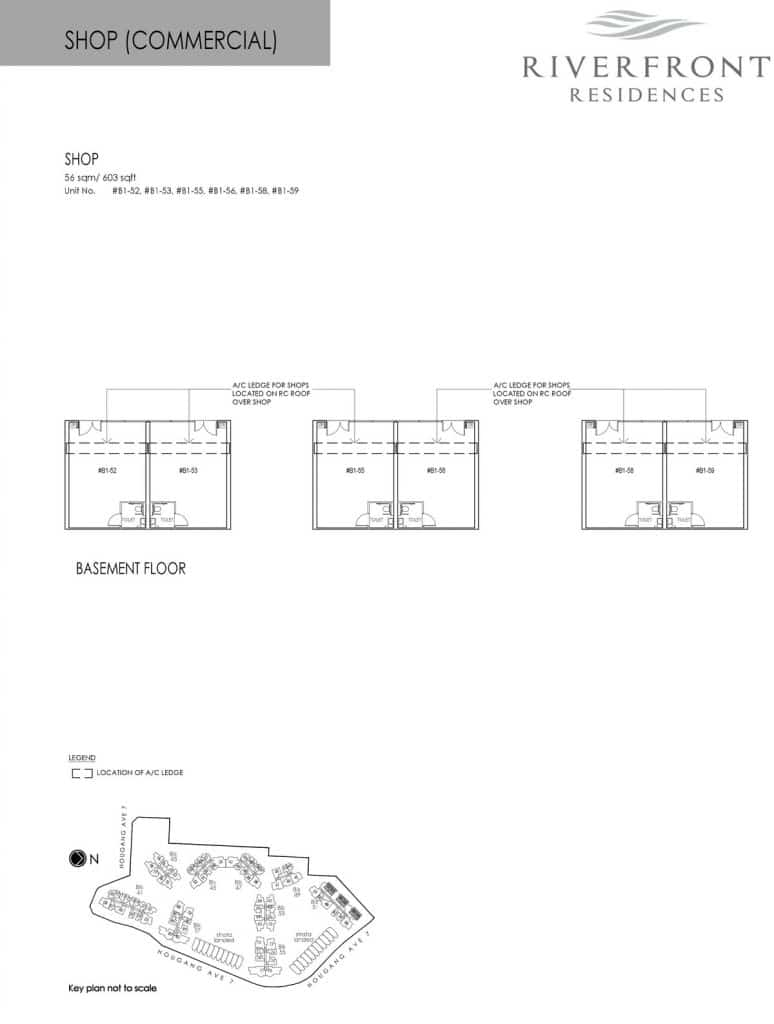 Riverfront Residences Condo Floor Plan Shop