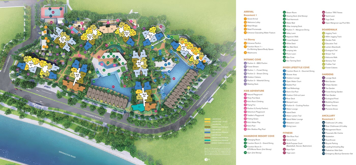 Riverfront Residences Condo Site Plan