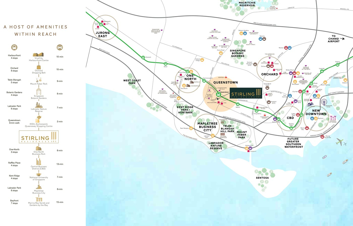 Stirling Residences Condo Location Map