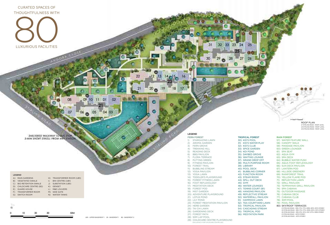 Stirling Residences Condo Site Plan