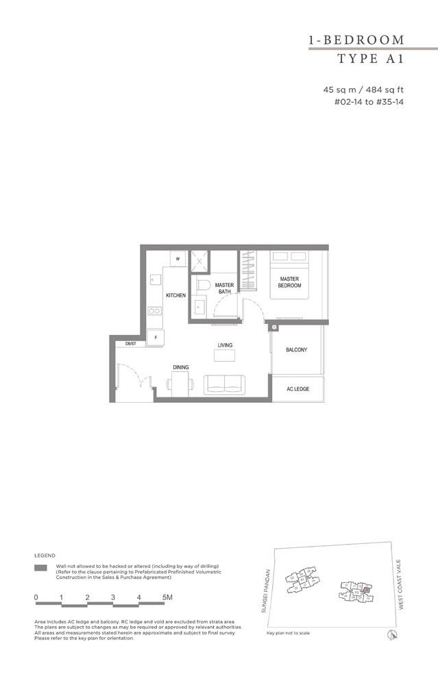 Twin Vew Condo Floor Plan 01