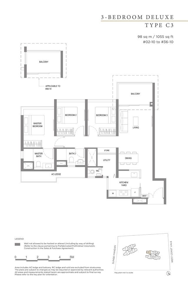 Twin Vew Condo Floor Plan 10