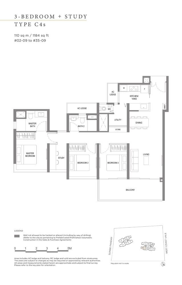 Twin Vew Condo Floor Plan 11