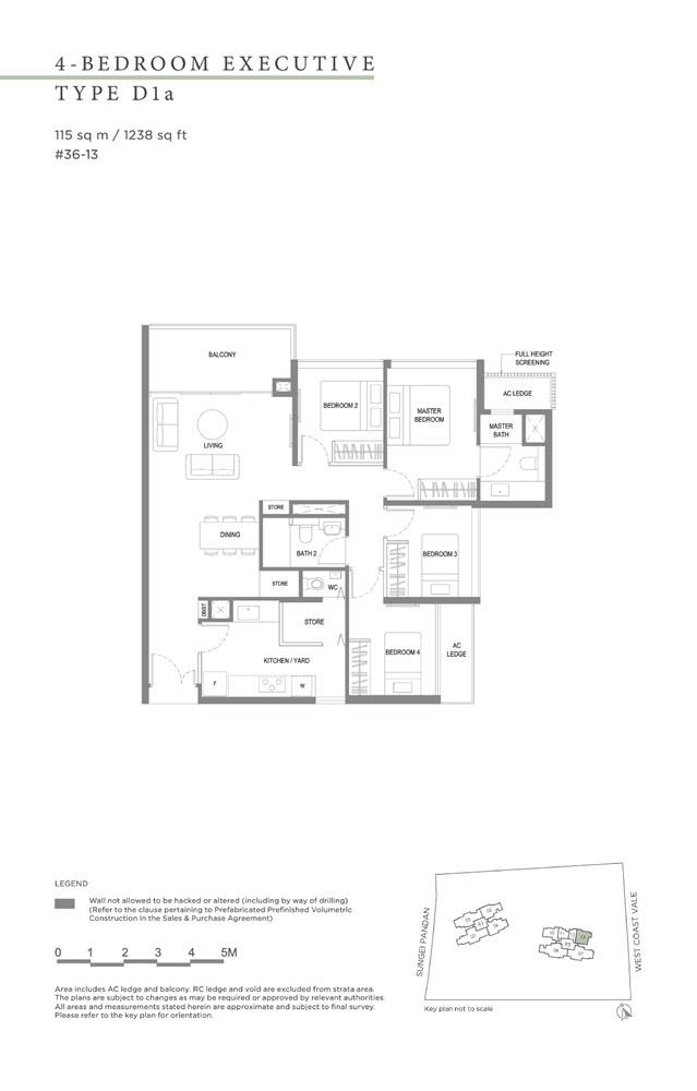 Twin Vew Condo Floor Plan 14