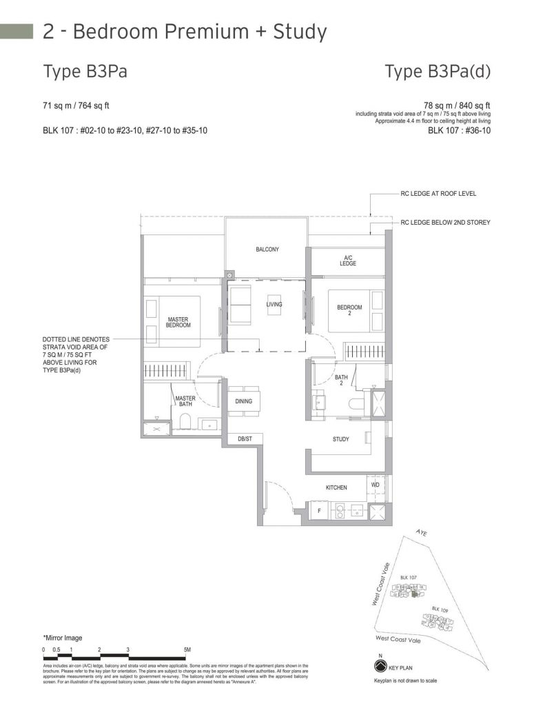 Whistler Grand Condo Floor Plan 007