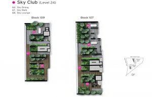Whistler Grand Condo Site Plan Sky Club