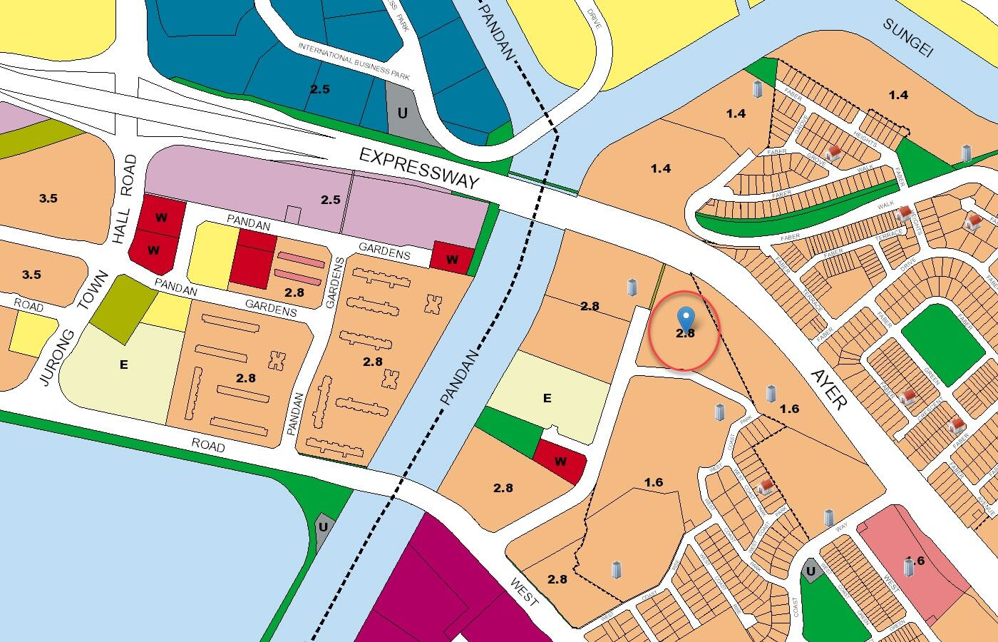 Whistler Grand Condo URA Master Plan Map