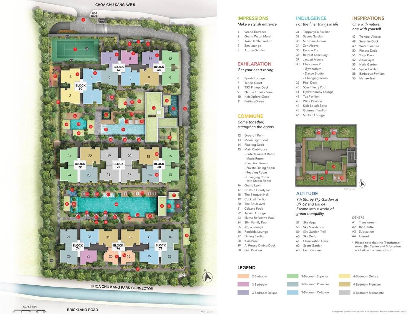iNz Residence Executive Condo Site Plan