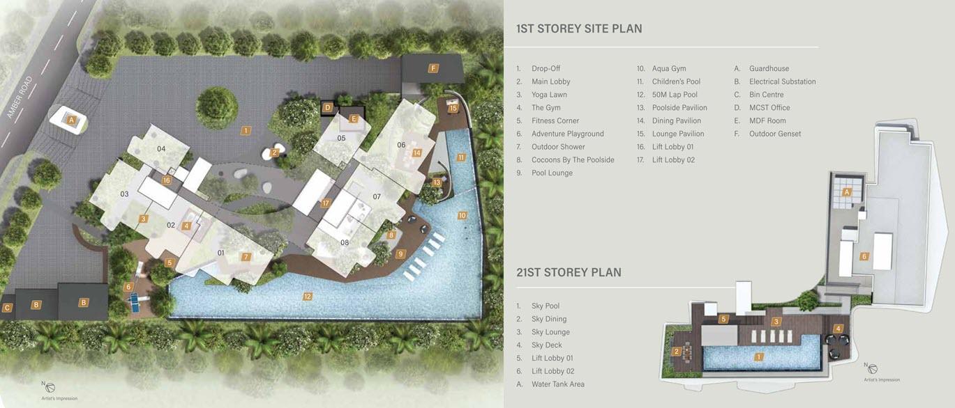 Coastline Residences Condo Site Plan