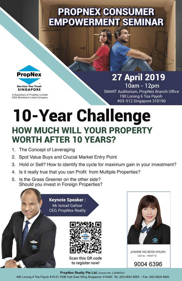 Consumer Empowerment Seminar - 27 Apr 2019