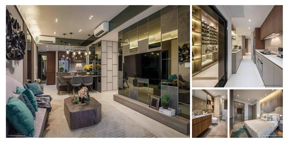 Kent Ridge Hill Residences Showflat 3 Bedroom Premium