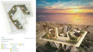 Amber Park Condo Site Plan (at Level 22)