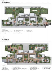 Sky Everton Condo Site Plan - 14th, 24th Storey