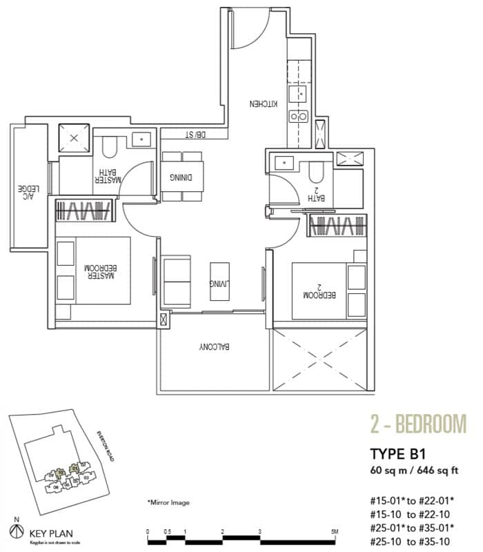 Sky Everton Showflat Unit 2-Bedroom B1