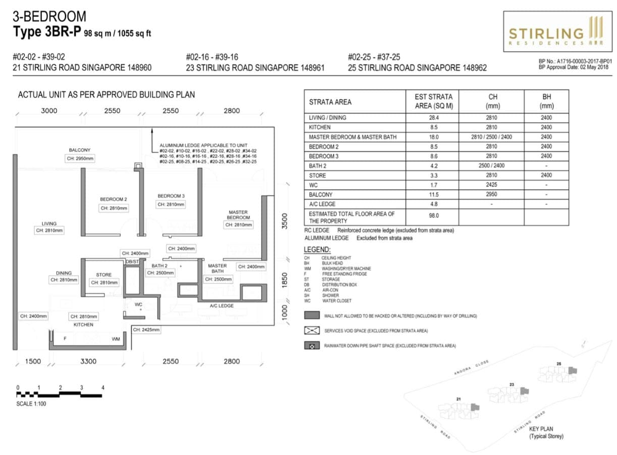 Stirling Residences Showflat 3BR Premium 3BR-P