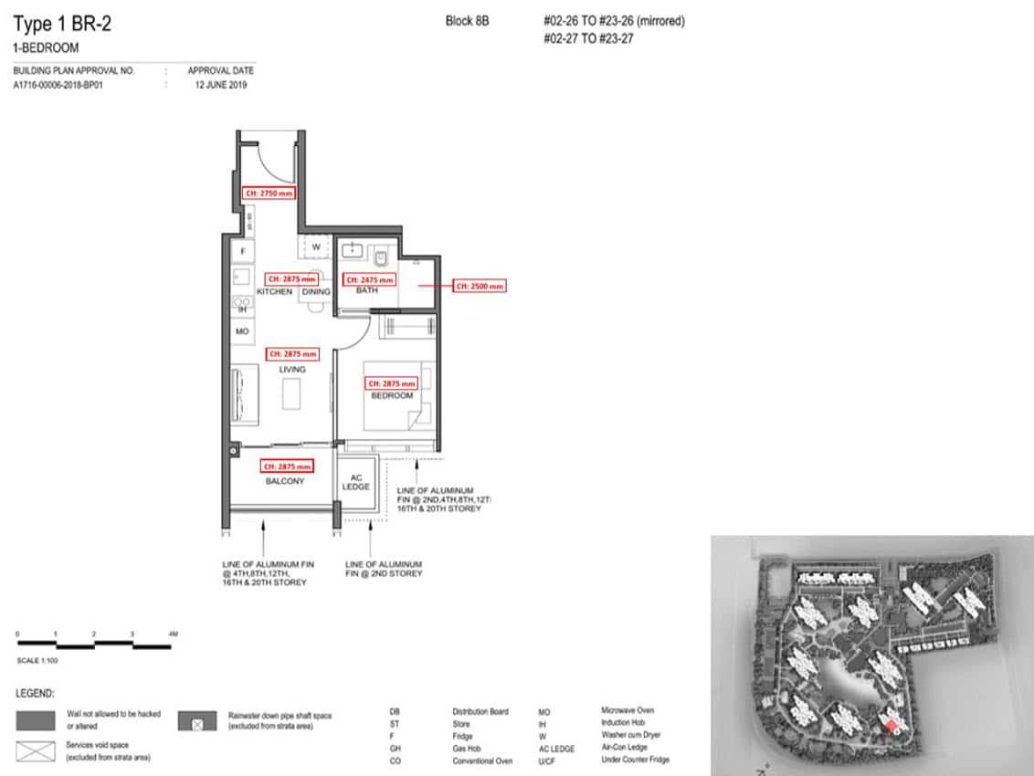 Parc Clematis Condo Showflat Show Unit - 1 Bedroom (Contemporary) - 1BR-2