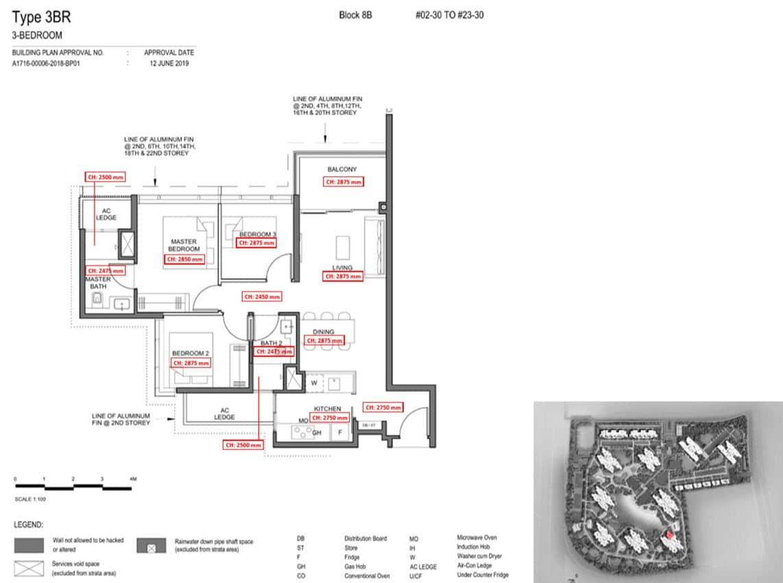 Parc Clematis Condo Showflat Show Unit - 3 Bedroom (Contemporary) - 3BR